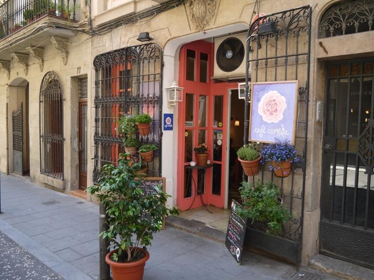 Cafe Camelia, Gracia, Barcelona