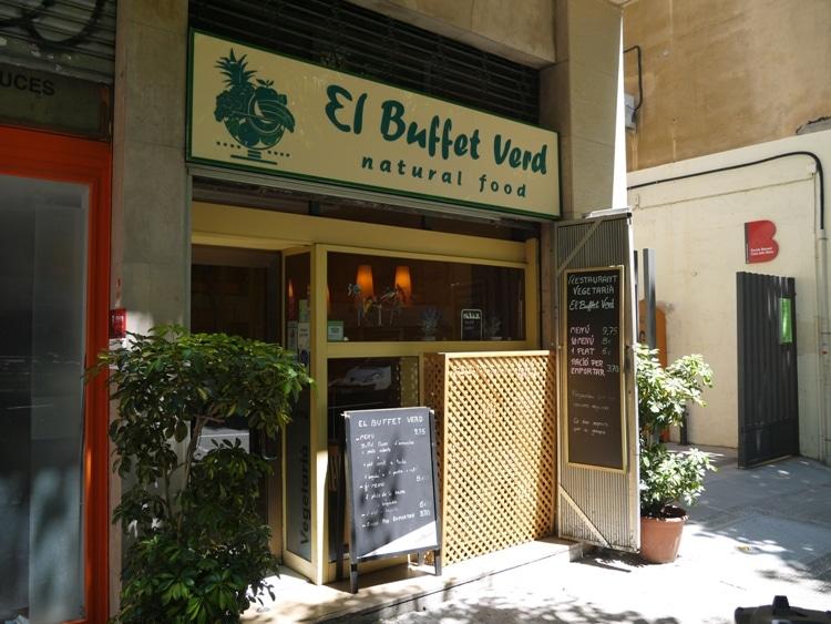 El Buffet Verd, Gracia, Barcelona