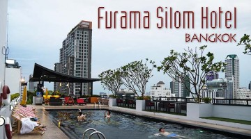 Swimming Pool At Furama Silom Hotel, Bangkok