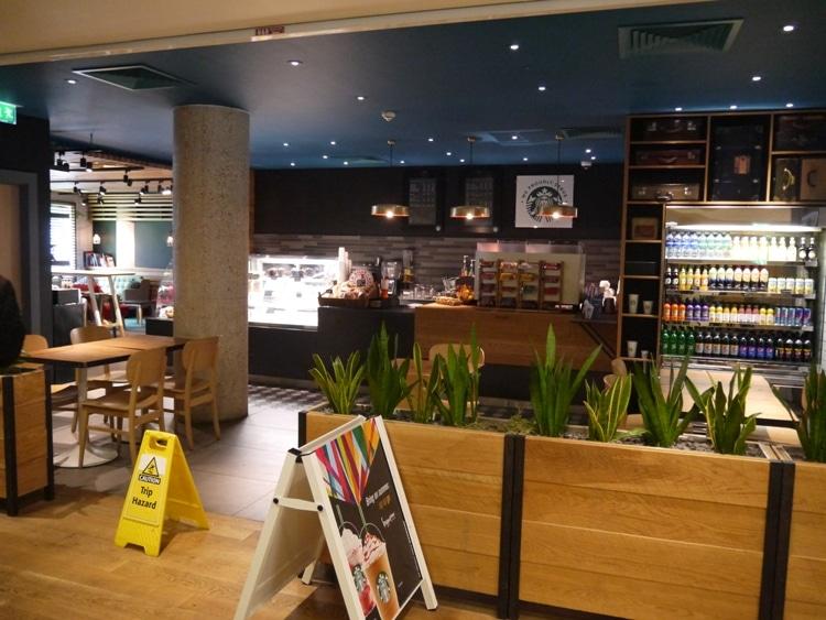 Starbucks At Hampton By Hilton, Gatwick Airport