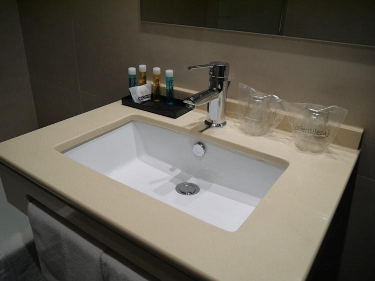 Bathroom At Hotel Venecia, Seville, Andalusia, Spain