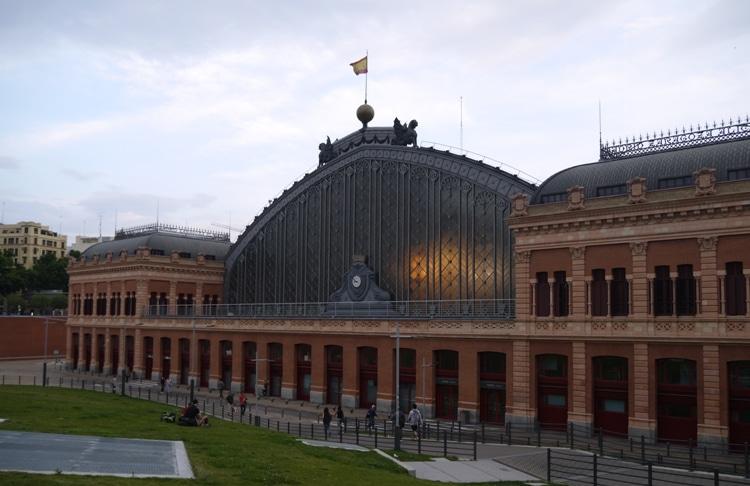 Madrid Puerta de Atocha Train Station