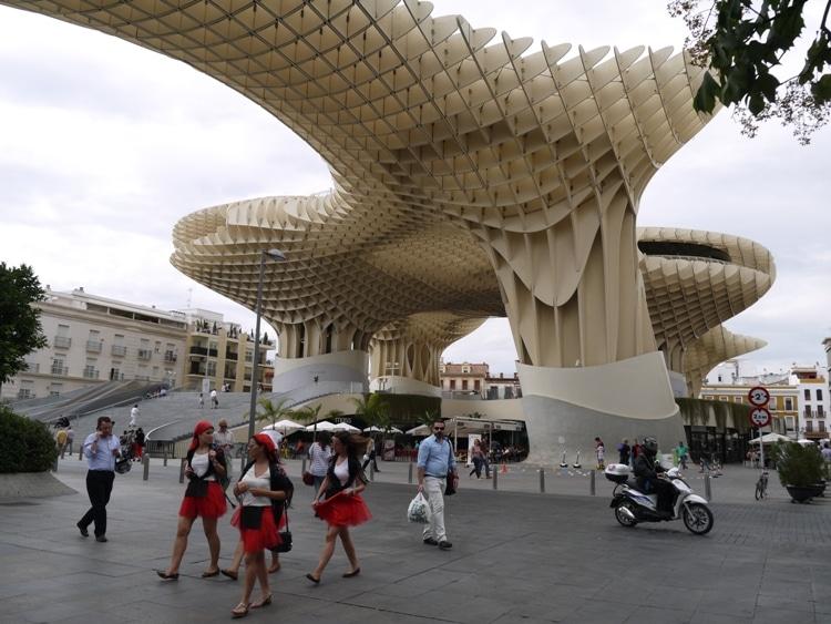 Metropol Parasol. Seville