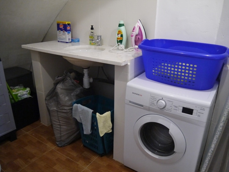 Utility Room At Monica's Place, Gracia, Barcelona