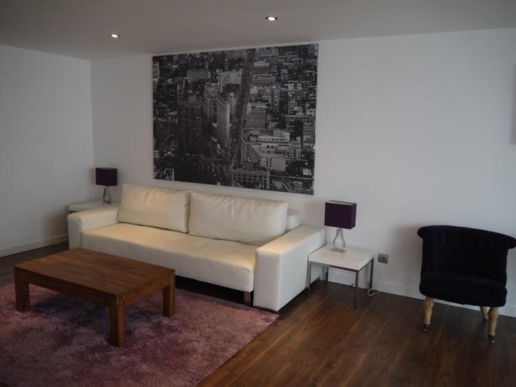 Comfortable Sofa & New York Art