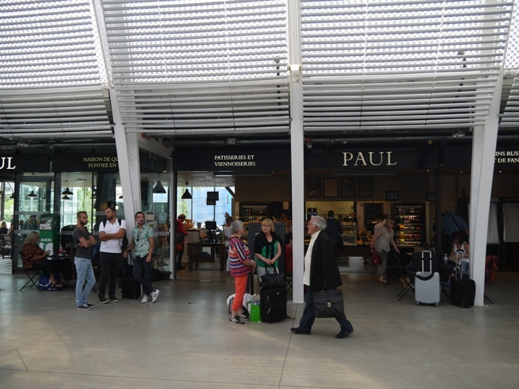 Paul Cafe, Montpellier Train Station