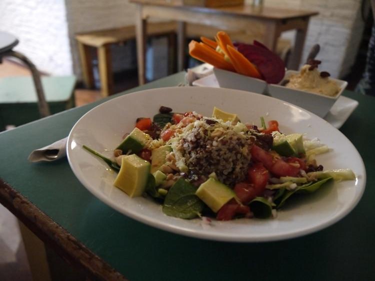Quinoa Salad At Quinoa Bar Vegetaria, Gracia, Barcelona