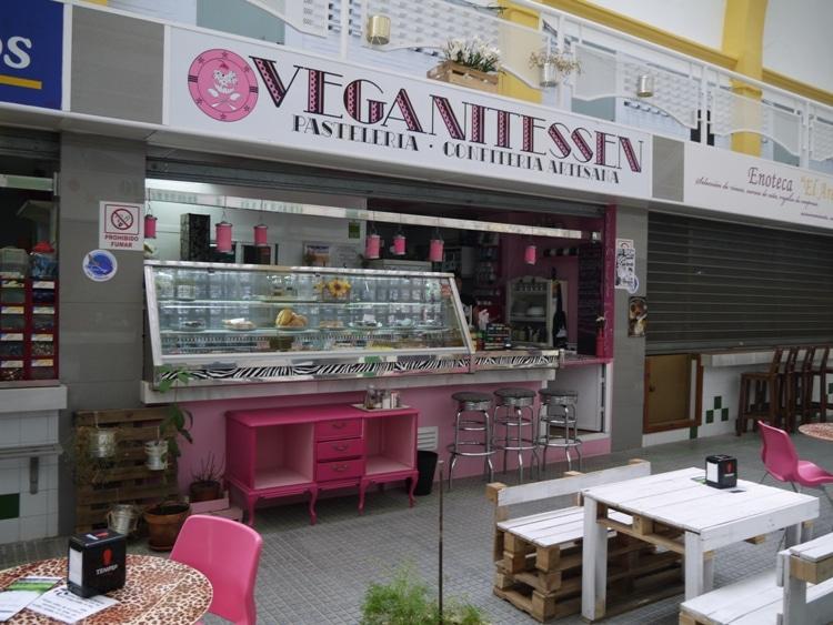 Veganitessen, Arenal Market, Seville, Spain