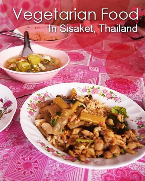 Vegetarian Restaurants, Sisaket, Thailand