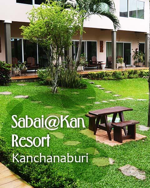Sabai@Kan Resort, Kanchanaburi, Thailand