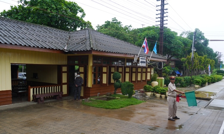 Nong Pladuk - One Of The Many Small Stations Between Bangkok And Kanchanaburi