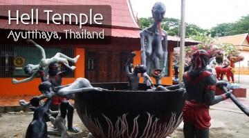 Wat Kai, Hell Temple, Ayutthaya, Thailand