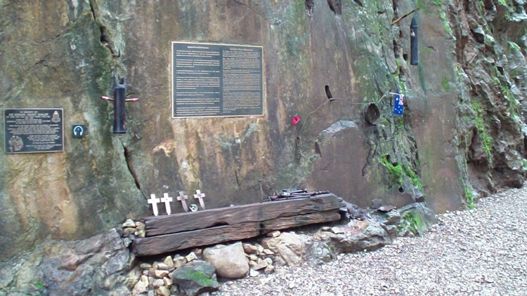 A Memorial At Hellfire Pass, Kanchanaburi, Thailand