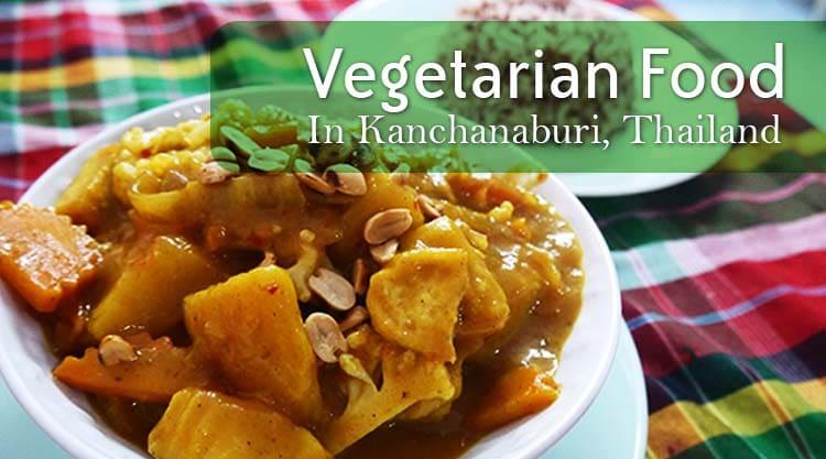 Massaman Curry At On's Thai Isaan Vegetarian Restaurant, Kanchanaburi