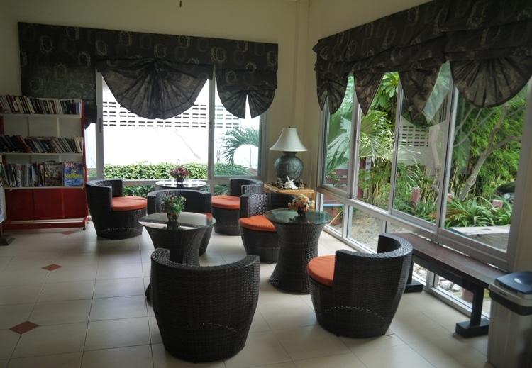 Lobby At Sabai@Kan Resort, Kanchanaburi, Thailand