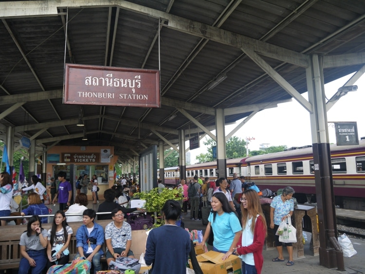 Thonburi Train Station, Bangkok