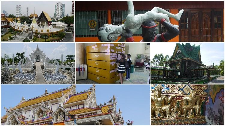 7 weird Thai temples