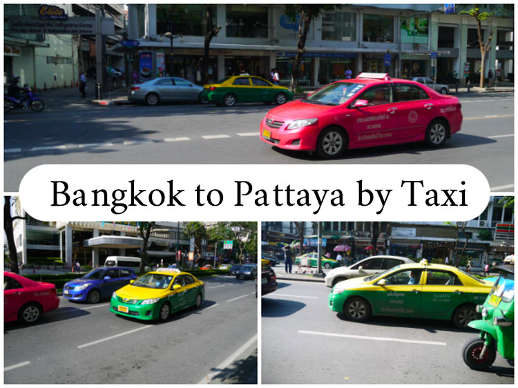 How to travel Bangkok to Pattaya by Taxi