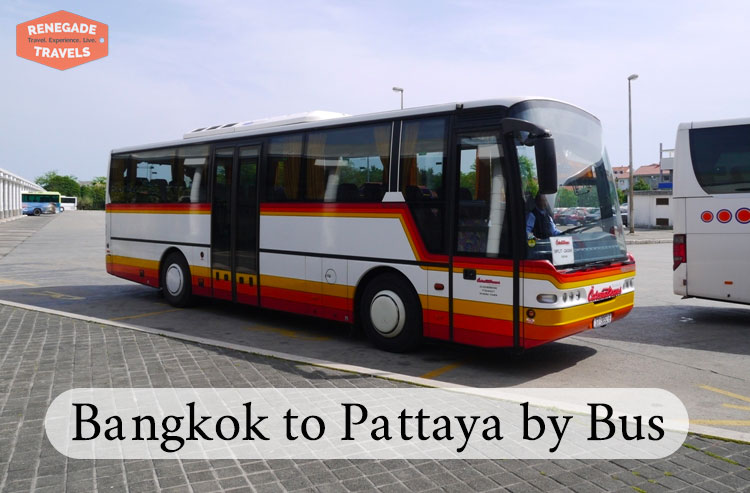 How to travel from Bangkok to Pattaya by bus
