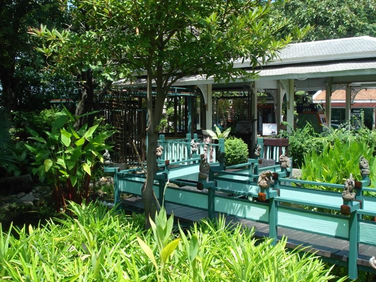 Gardens At Erawan Museum, Samut Prakan, Thailand