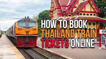 How to buy Thailand Train tickets online