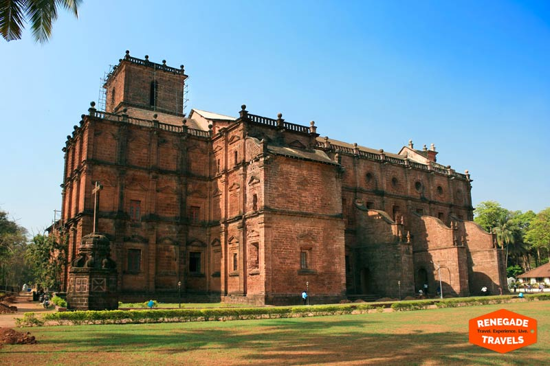 The Basilica of Bom Jesus in Goa, India