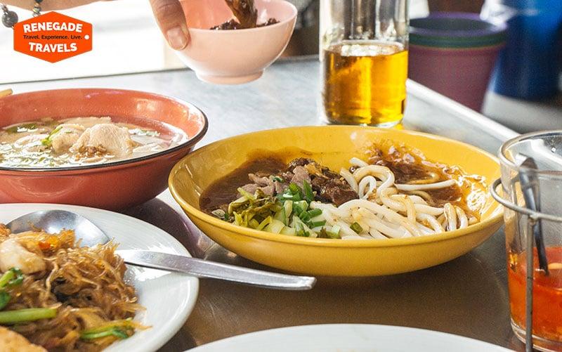 Delicious Bangkok Street food in Thailand's Nang Leong district