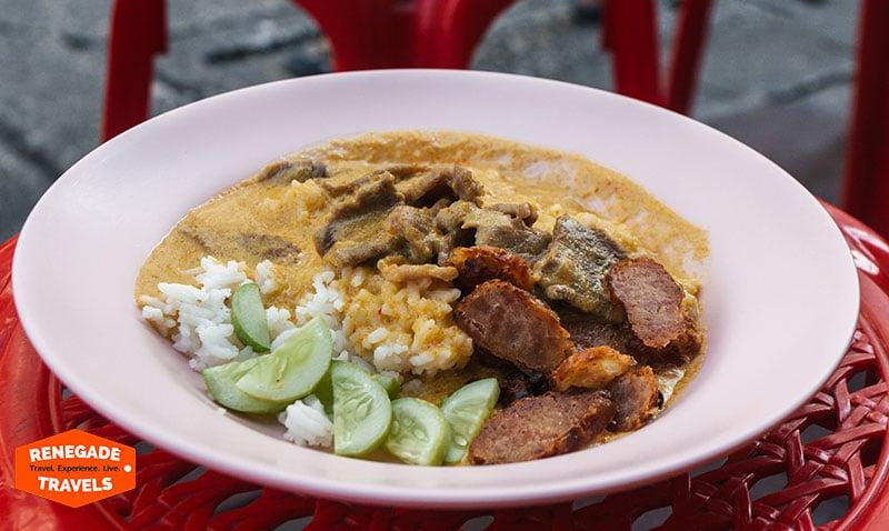 Bangkok Street food in Yaowarat (Thailand)