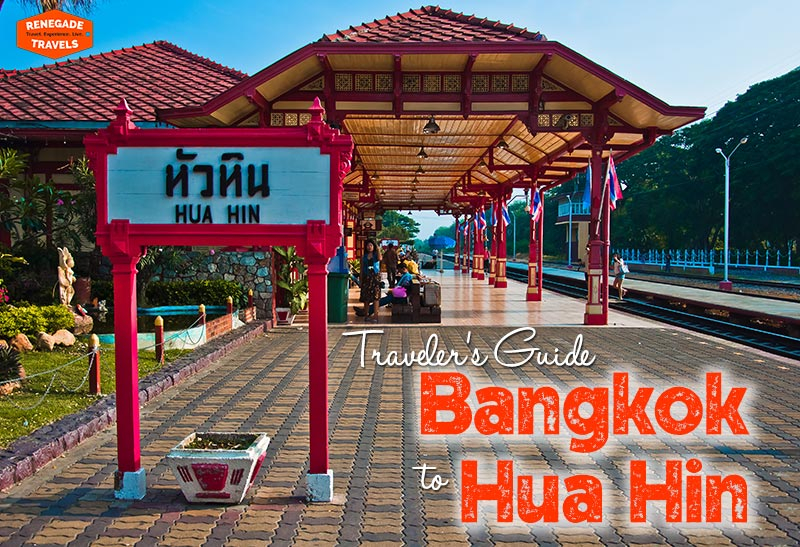 How to travel between Bangkok and Hua Hin in Thailand