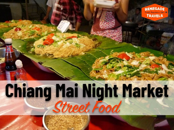 Street Food at the Chiang Mai Night Market
